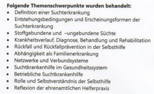 Inhalte des Lehrgangs.